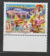 """Nouvelle Calédonie 2017 :   """"Le Carnaval De Nouméa""""   - Neuf ** Avec Bord De Feuille - - New Caledonia"""