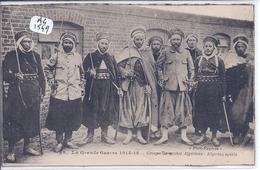 MILITARIA- 1915- SPAHIS ALGERIENS - War 1914-18