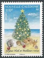 """Nouvelle Calédonie 2017 : """"Joyeux Noël Et Meilleurs Vœux""""   - Neuf ** - - New Caledonia"""
