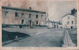 4120A    LES ESSARTS 1944  ECRITE - Les Essarts