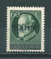 Saar MiNr. 26 * Geprüft Dub BPP (bb18) - 1920-35 Saargebiet – Abstimmungsgebiet