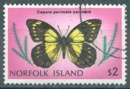 NORFOLK ISLAND - USED/OBLIT. - 1976-1977 - BUTTERFLY - Yv 196 ASC 197  - Lot 17514 - Ile Norfolk