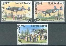 NORFOLK ISLAND - USED/OBLIT. - 1982 - CHRISTMAS - Yv 288-290 ASC 292-294  - Lot 17515 - Ile Norfolk