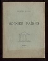 Georges Michau Songes Païens + Traductions De Lermontov éd Bishop Paris 1953 Signé Dédicacé Port Fr 4,80 € - Poesia