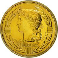 France, Médaille, Ecu Europa, Marianne, 1991, Rodier, FDC, Bronze - Francia