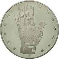 Belgique, Médaille, Etats-Unis D'Europe, FDC, Argent - Belgique