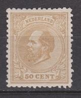 NVPH Nederland Netherlands Pays Bas Niederlande Holanda 27 MLH Ongebruikt ; Willem III 1872 Very Fine - Ongebruikt