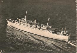 CPA-1950-FERRY-PAQUEBOT -LIAISION - CORSE-Le NAPOLEON- Cie C.G.Transatlantique -BE - Ferries