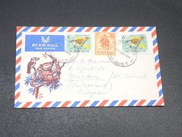 AUSTRALIE - Enveloppe Illustrée Pour L 'Allemagne En 1965 , Affranchissement Plaisant - L 19701 - 1952-65 Elizabeth II : Pre-Decimals