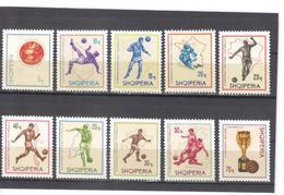 OST1344  ALBANIEN 1966  MICHL  1036/45 ** Postfrisch SIEHE ABBILDUNG - Albanien
