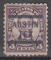 USA Precancel Vorausentwertung Preo, Locals Texas, Austin 584-563 - Vorausentwertungen