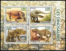HAITI [02/2018] Dinosaurs Dinosaures Dinosaurier Prehistoric Animals - Prehistorics