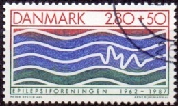 DENEMARKEN 1987 Epilepsie GB-USED - Danemark