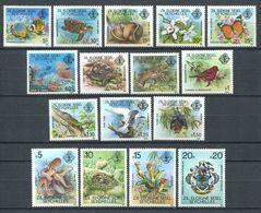 234 ZIL ELOIGNE SESEL Seychelles 1980 - Yvert 1/16 - Tortue Poisson Papillon Nepenthes ... - Neuf **(MNH) Sans Charniere - Seychelles (1976-...)