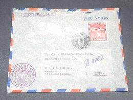 CHILI - Enveloppe Du Consulat Suisse à Valparaiso Pour La Suisse - L 19711 - Chile