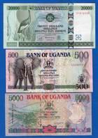 Ouganda  6  Billets - Uganda