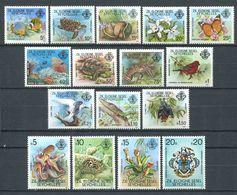 234 ZIL ELOIGNE SESEL Seychelles 1981 - Yvert 32 47 - Tortue Poisson Papillon Nepenthes .. - Neuf **(MNH) Sans Charniere - Seychelles (1976-...)