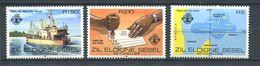 234 ZIL ELOIGNE SESEL Seychelles 1980 - Yvert 17/19 - Bateau Obliteration Carte Iles - Neuf **(MNH) Sans Charniere - Seychelles (1976-...)