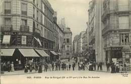 PARIS  Rue De Sevigné A La Rue Saint Antoine - Arrondissement: 04