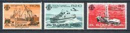 234 ZIL ELOIGNE SESEL Seychelles 1982 - Yvert 50/52 - Bateau Pecheur Forage - Neuf **(MNH) Sans Charniere - Seychelles (1976-...)