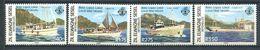234 ZIL ELWAGNE SESEL Seychelles 1982 - Yvert 53/56 - Bateau Postal - Neuf **(MNH) Sans Charniere - Seychelles (1976-...)