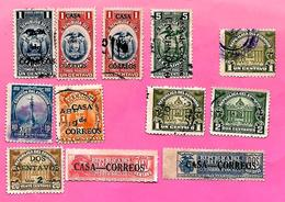 3173  --  EQUATEUR  --   Lot  De  Timbres  Oblitérés - Equateur
