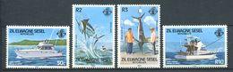 234 ZIL ELWAGNE SESEL Seychelles 1984 - Yvert 97/100 - Bateau Peche Pecheur - Neuf **(MNH) Sans Charniere - Seychelles (1976-...)
