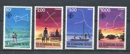 234 ZIL ELWAGNE SESEL Seychelles 1984 - Yvert 105/06 - Constellation Etoile - Neuf **(MNH) Sans Charniere - Seychelles (1976-...)