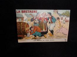 """Série """" La Bretagne """"en Couleurs .Artaud & Nozais , Nantes.Les Gaietés Du Cidre Breton . Voir 2 Scans . - Bretagne"""