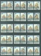 NORFOLK ISLAND - USED/OBLIT. - 1987 - FIRST FLEET - Yv 406-407 ASC 407-408  - Lot 17517 - ACCUMULATION AT 3% - Ile Norfolk