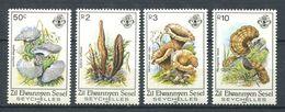 234 ZIL ELWANNYEN SESEL Seychelles 1985 - Yvert 109/12 - Champignon - Neuf **(MNH) Sans Charniere - Seychelles (1976-...)