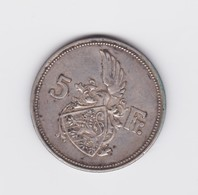 5 Francs Luxembourg 1929 TTB - Luxembourg