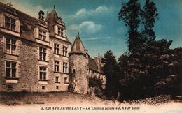 CHATEAUBRIANT -44- LE CHATEAU FACADE EST XVI SIECLE - Châteaubriant