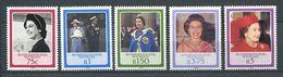 234 ZIL ELWANNYEN SESEL Seychelles 1986 - Yvert 127/31 - Reine Elizabeth - Neuf **(MNH) Sans Charniere - Seychelles (1976-...)