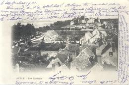 SULLY . VUE GENERALE . AFFR AU VERSO LE 7 SEPT 1902 . 2 SCANES - Sully Sur Loire