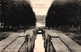 ROGNY -89- LES 7 ECLUSES VUE PRISE DU HAUT - France