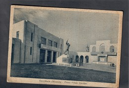 Corridonia Macerata Piazza Filippo Corridoni  VIAGGIATA 1939 Non Perfetta COD.C.2027 - Macerata