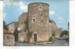 170. Ruoms, Enceinte Fortifiée, Tour Des Tourelles - Ruoms
