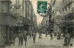 PARIS  La Rue Saint Martin - Arrondissement: 04
