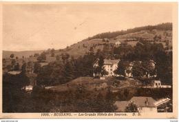 88. Bussang. Les Grands Hotels Des Sources - Bussang