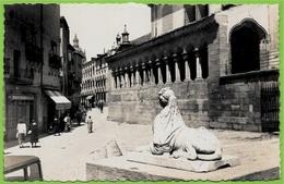 CPSM Tarjeta Posta SEGOVIA Espagne Spain Espana - Las Sirenas E Iglesia De San Martin * Statue Statuaire Art - Segovia