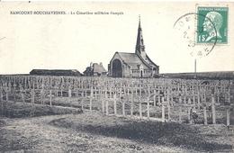 SOMME - 80 - RANCOURT BOUCHAVESNES  Près De Péronne -  Guerre 14 -Le Cimetière Militaire - Peronne