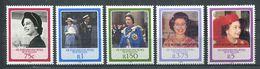 234 ZIL ELWANNYEN SESEL Seychelles 1987 - Yvert 158/62 Surcharge - Reine Elisabeth - Neuf **(MNH) Sans Charniere - Seychelles (1976-...)