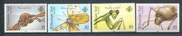234 ZIL ELWANNYEN SESEL Seychelles 1988 - Yvert 166/69 - Insecte Mante Papillon - Neuf **(MNH) Sans Charniere - Seychelles (1976-...)