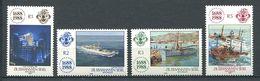 234 ZIL ELWANNYEN SESEL Seychelles 1988 - Yvert 170/73 - Bateau Lloyd - Neuf **(MNH) Sans Charniere - Seychelles (1976-...)
