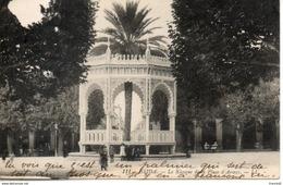 Algérie. Blida. Le Kiosque De La Place D'armes. Petite Déchirure En Bas Au Centre - Blida