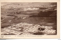Maroc. Casablanca. Le Camp De La  Jonquiere Vu En Avion - Casablanca