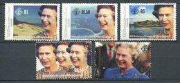 234 ZIL ELWANNYEN SESEL Seychelles 1992 - Yvert 211/15 - Reine Elisabeth - Neuf **(MNH) Sans Charniere - Seychelles (1976-...)