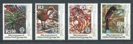 234 ZIL ELWANNYEN SESEL Seychelles 1992 - Yvert 216/19 - Oiseau Plante Crabe - Neuf **(MNH) Sans Charniere - Seychelles (1976-...)