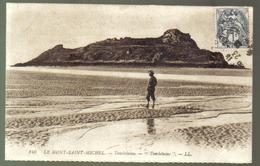 LE MONT SAINT MICHEL TOMBELAINE VIAGGIATA 1925 COD.C.027 - Le Mont Saint Michel